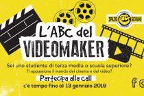 OPPORTUNITA' FORMATIVA / L'ABC del VIDEOMAKER